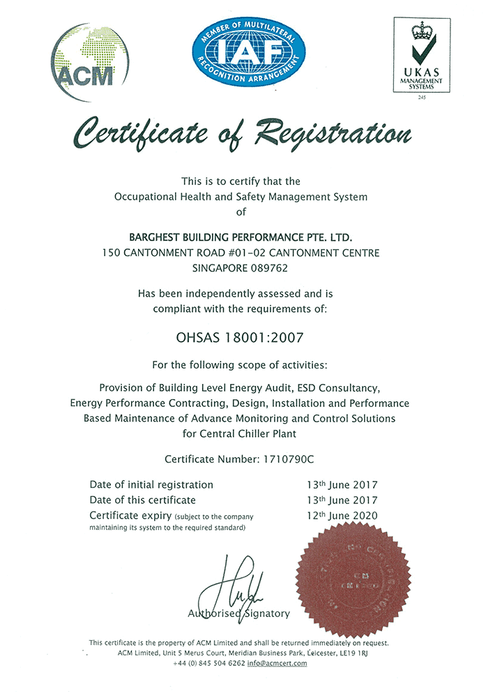 BBP achieving ISO14001 and OHSAS 18001 certification – Barghest ...